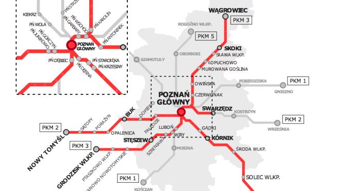 Poznańska Kolej Metropolitalna: do S-Bahn jeszcze daleko